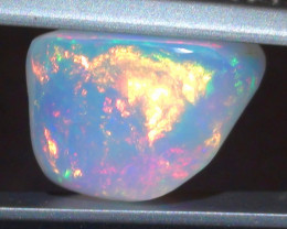3.45 ct Ethiopian Gem Color Carved Freeform Welo Opal
