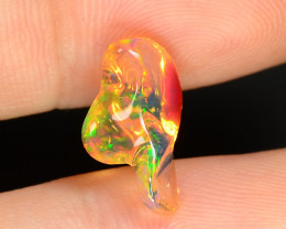 2.47 CTS World Very Rare Natural Mexican Fire Opal Loose Gemstones