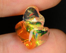 4.54 CTS World Very Rare Natural Mexican Fire Opal Loose Gemstones
