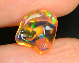 2.65 CTS World Very Rare Natural Mexican Fire Opal Loose Gemstones