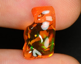 2.69 CTS World Very Rare Natural Mexican Fire Opal Loose Gemstones