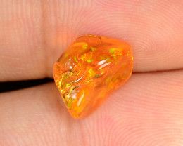 1.57 CTS World Very Rare Natural Mexican Fire Opal Loose Gemstones