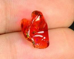 2.52 CTS World Very Rare Natural Mexican Fire Opal Loose Gemstones
