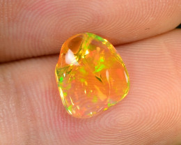 1.34 CTS World Very Rare Natural Mexican Fire Opal Loose Gemstones