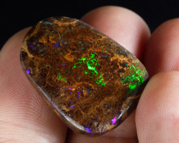 31.4ct Bright Boulder Matrix Opal, Natural Australian Solid Opal, Real Opal