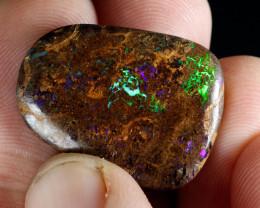 31.4ct Bright Boulder Matrix Opal, Natural Australian Solid Opal, Real Opal