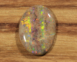 2.05ct-BIG RED HEART- Andamooka Matrix opal [21258]