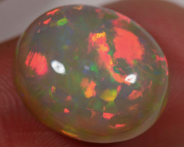 8.1 CT- BEAUTIFUL GREY OVAL WELO OPAL CABACHON