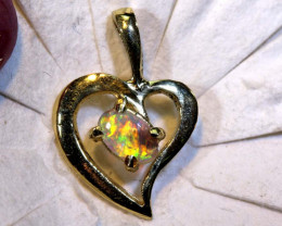 4.60 CTS  CRYSTAL OPAL GOLD PENDANT  OF-2520