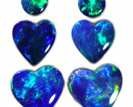 2.83 CTS DOUBLET PARCEL HEART SHAPE [SEDA2080]