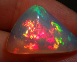 10ct  Water Transparent Awesome Blazing Welo Solid Opal
