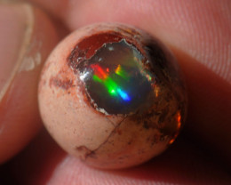 14ct Mexican Matrix Cantera Landscape Fire Opal