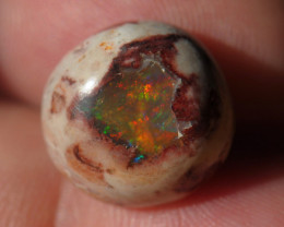 9ct  Mexican Matrix Cantera Multicoloured Fire Opal