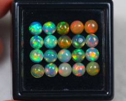4.06Ct Natural Ethiopian Welo Opal Lot JA811