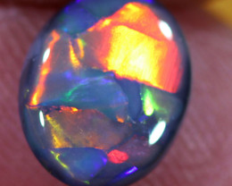 1.40CTS BROAD FLASH BLACK  OPAL [bd1]