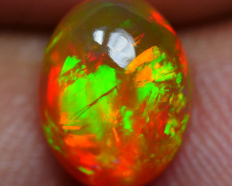 1.45 CRT DARK BASE BROAD STRIPE NEON PATTERN PLAY COLOR WELO OPAL