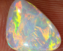 1.35ct 11x8mm Solid Lightning Ridge Crystal Opal [LO-1517]