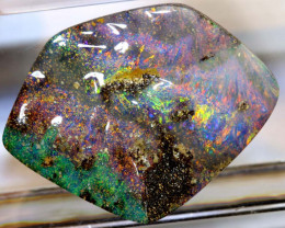28.16-CTS QUALITY BOULDER OPAL POLISHED STONE  INV-1224