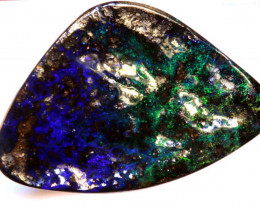 15.33-CTS QUALITY BOULDER OPAL POLISHED STONE  INV-1231