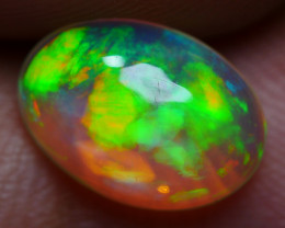 1.20 CRT CRYSTAL CLEAR BEUATY BROAD FLASH FLORAL PATTERN  PLAY COLOR WELO O