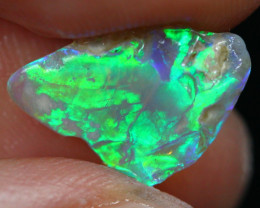 2.42cts Australian Lightning Ridge Opal Rough /AS34