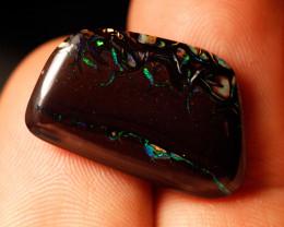 15.7ct Koroit Boulder Matrix Opal, Natural Australian Solid Opal, Real Opal