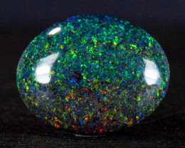 5.8ct Beautiful Oval Andamooka Matrix Opal, Natural Australian Solid Opal,