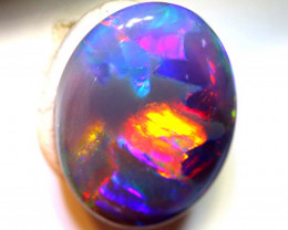 N3 -2.54  CTS QUALITY BLACK OPAL POLISHED STONE INV-1240
