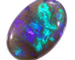 3.90Cts TOP BLACK OPAL  DOUBLE SIDED CRYSTAL TRANSLUCENT  DIFFERENT SHADES