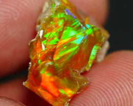 4.40 CRT WELO OPAL ROUGH MULTICOLOR ETHIOPIAN OPAL