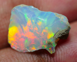 4.50 CRT WELO OPAL ROUGH MULTICOLOR ETHIOPIAN OPAL