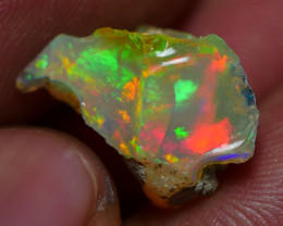 5.00 CRT WELO OPAL ROUGH MULTICOLOR ETHIOPIAN OPAL
