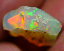 6.80 CRT WELO OPAL ROUGH MULTICOLOR ETHIOPIAN OPAL