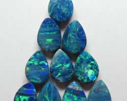 7  x 5mm  10Stone Australian Doublet Opal Parcel