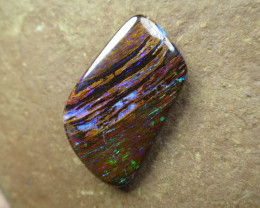 """25cts,""""WOOD OPAL~FOSSIL STONE"""""""