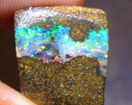 9.90 ct $1 NR Beautiful Gem Multi Color Solid Boulder Opal Rough Rub
