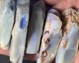 1400 CTs Collection Grade Rough Seam Opals of Lightning Ridge, #356