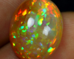 12.15cts High Density Cell Pattern Natural Ethiopian Welo Opal