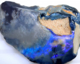 55 CTS BLACK OPAL ROUGH L.RIDGE  DT-1870