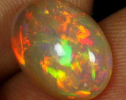 SUPER DEAL 3.95cts 5/5 Iridescence Multi Fire Natural Ethiopian Welo Opal