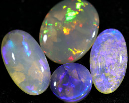 9.25 CTS CRYSTAL OPAL STONE FROM LIGHTNING RIDGE[LRO550]