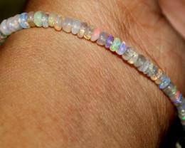 15 Crt Natural Ethiopian Welo Opal Beads Bracelet 165
