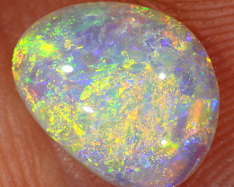 1.35ct 9.5x7.5mm Solid Lightning Ridge Crystal Opal [LO-1521]