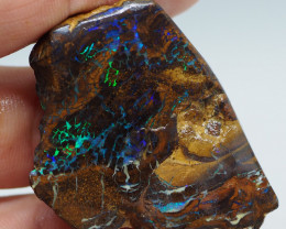 88.00CT ROUGH QUEENSLAND MATRIX BOULDER OPAL  PJ93