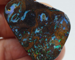 75.00CT ROUGH QUEENSLAND MATRIX BOULDER OPAL  PJ100