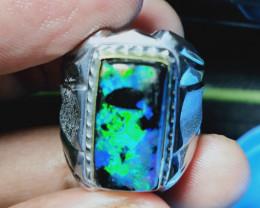 Cek Video SUPER 5/5 Neon Blue PATTERN Fossil OPAL