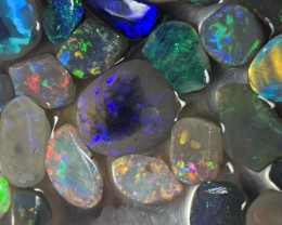 32.8 Carats of Solid/Natural Lightning Ridge Opal Rubs,#374