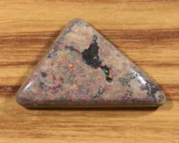 18.05ct -HERON EGRETTA- Andamooka Matrix opal [21321]