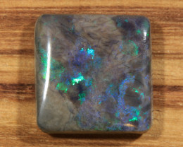 12.55ct -E.T...PHONE HOME-Andamooka Matrix opal [21340]