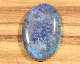 10.50ct -BLUE STAFFORD- Andamooka Matrix opal [21353]